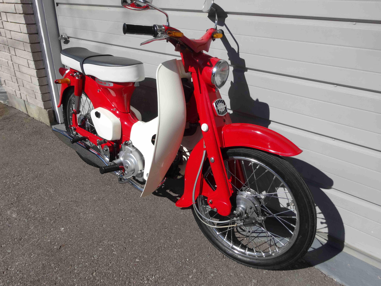 Canadian Vintage Motorcycle Group (CVMG) - 1965 Honda Cub ...